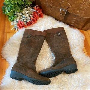 Teva below knee side zip winter boots